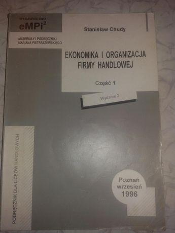 Podręcznik Ekonomika i organizacja firmy handlowej część 1