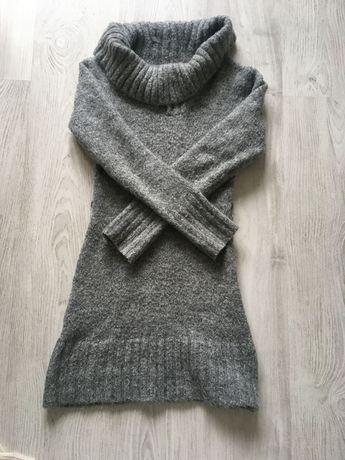 Sukienka Golf Wełna moher wełniany Jane Norman rozmiar M