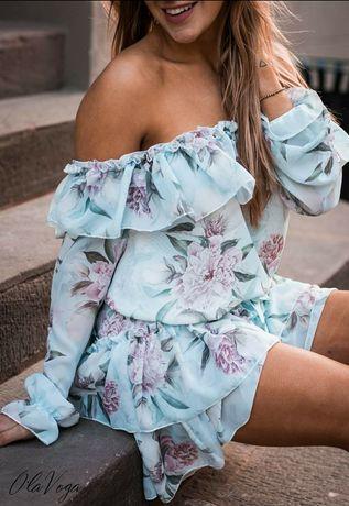 Sukienka HISZPANKA FLOWERS o la voga