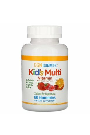 California Gold Nutrition, Поливитамины для детей, 60 штук