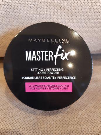 Maybelline New York Master Fixpuder transparenty