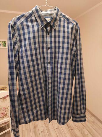 Koszula męska taliowana Wrangler 100% bawełna rozmiar M