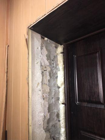 Откос установка мпк дверей укладка плитки стяжка  ремонт под ключ