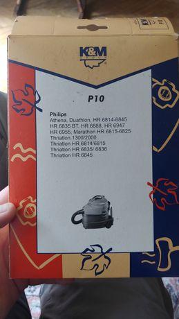Worki K&M P10 do odkurzacza Philips x2