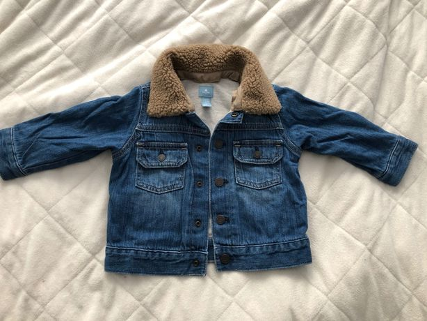 Kurtka jeansowa babyGap 18-24 m