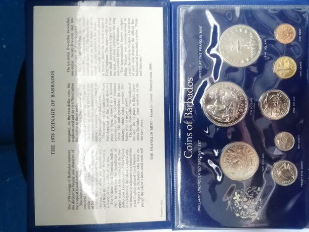 Альбом с монетами Barbados