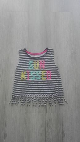 Bluzka ubranka dziewczynka 110 122 +