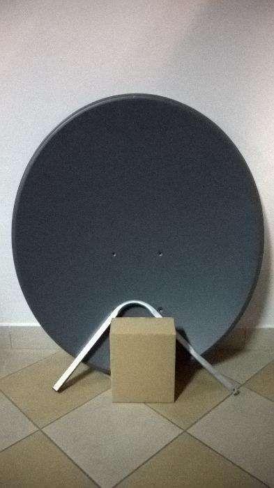 Antena Satelitarna CORAB CZASZA 90 CM, Kolor Grafitowy Radom - image 1