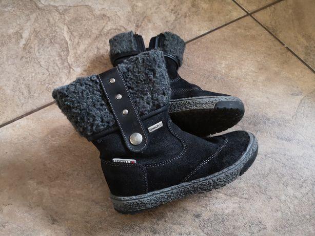 Buty zimowe dziewczęce r. 25