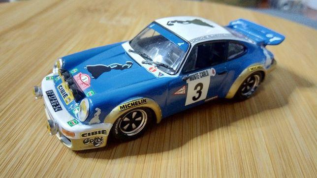 Porsche 911 RS #3 Rali MonteCarlo 1978, miniatura Altaya escala 1/43