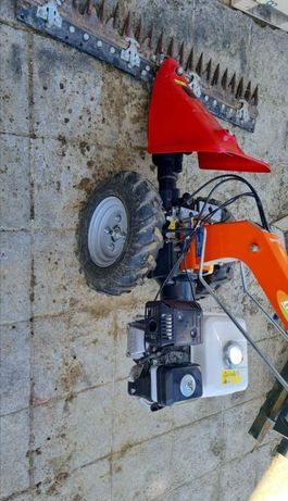 Motocultivador like motor Honda GX200 com pente corte erva