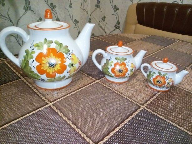 Набір чайників, чайник, заварник