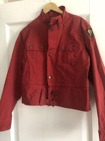 Куртка мужская байкерская Belstaff красная, оригинал