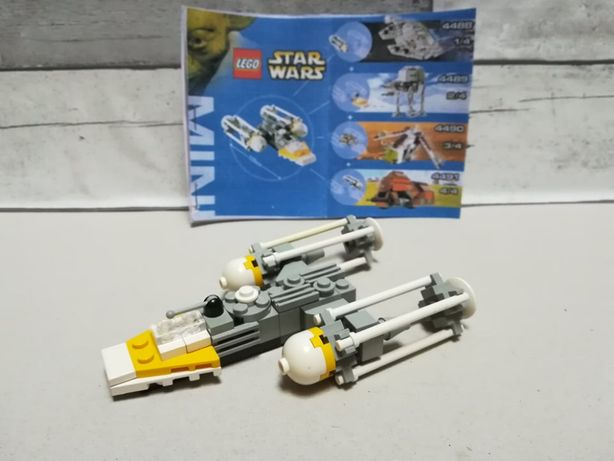 Lego STAR WARS mini 4488+4489+4490+4491
