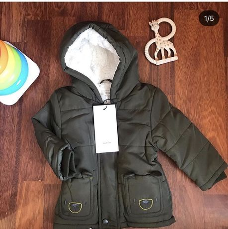 Куртка парка для мальчика хлопчика