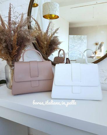 Жіноча італійська шкіряна сумка, Vera Pelle