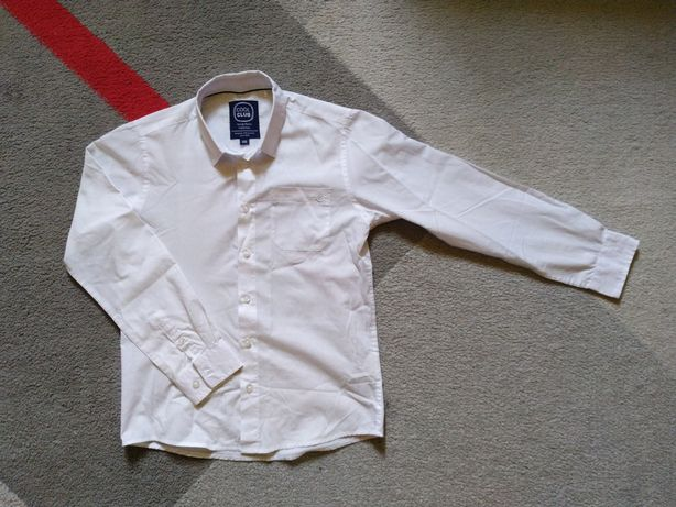 Biała koszula 146 cool club