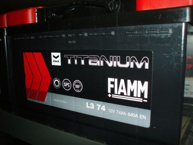 akumulator 12V 74Ah/640A Fiamm Titanium nowy Kielce-dowóz gratis!!!