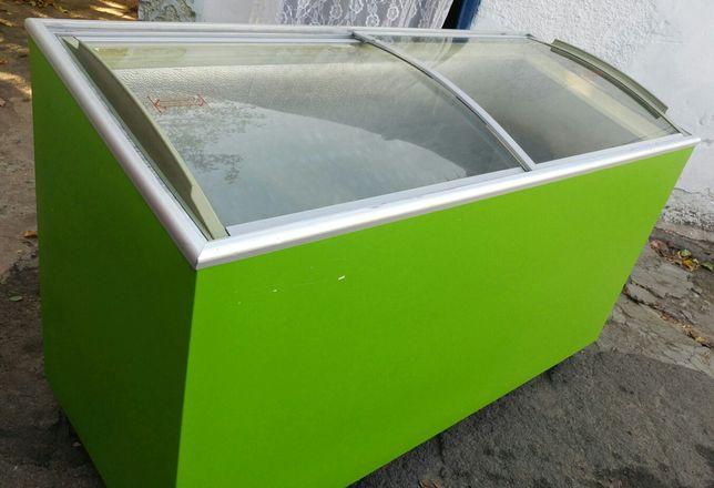 Продам  б/у морозильную ларь обьемом 420 литров.