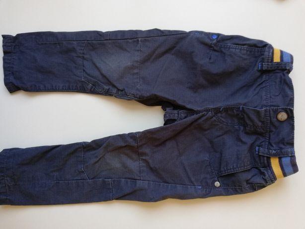 Jeansy spodnie dla chłopca rozmiar 86