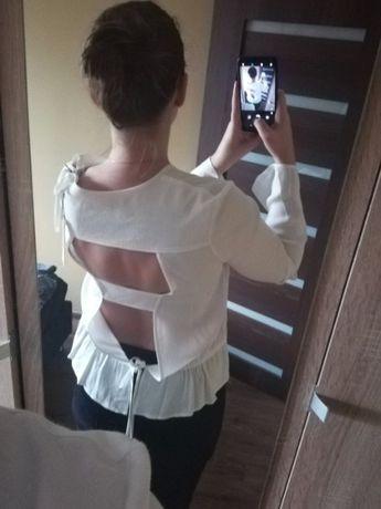 Kremowa oryginalna koszula Sandro Paris