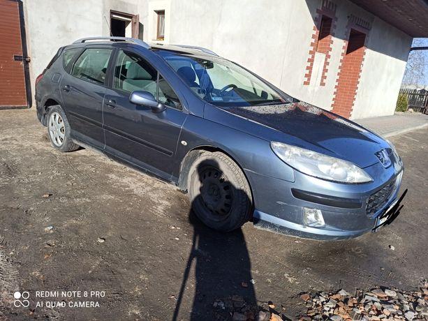 Sprzedam Peugeot 407, 1.6 HDI, 110 KM.