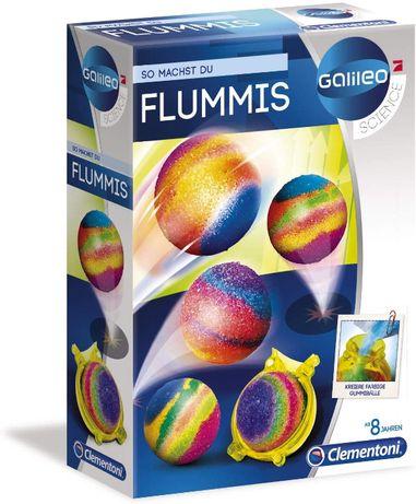 Skaczące planety, zestaw eksperymentalny / Clementoni