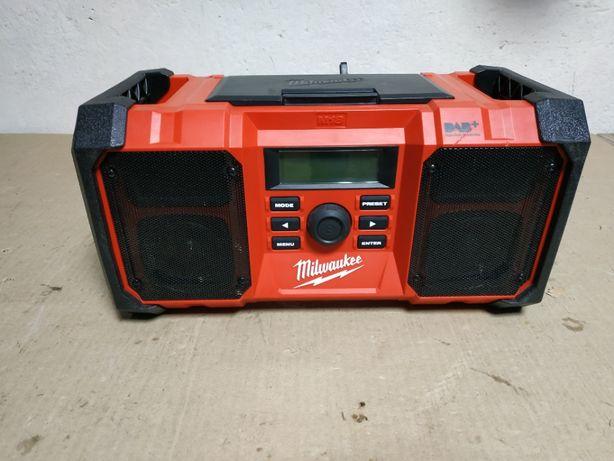 Строительный радиоприемник,радио,радіо MILWAUKEE m18 JSRDAB+ з АНГЛИИ