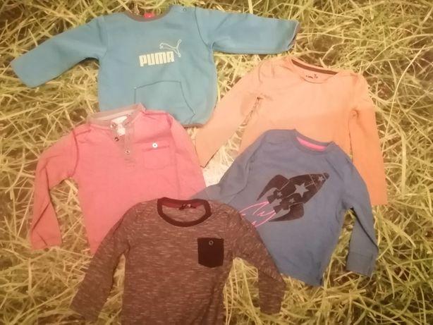 Bluzki dla chłopca  r. 86-92