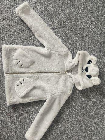 H&M miś polar bluza 4-6 lat