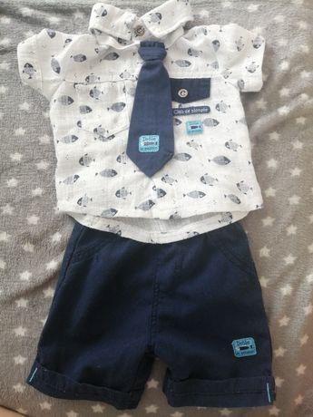 Ubranko dla chłopca z krawatem