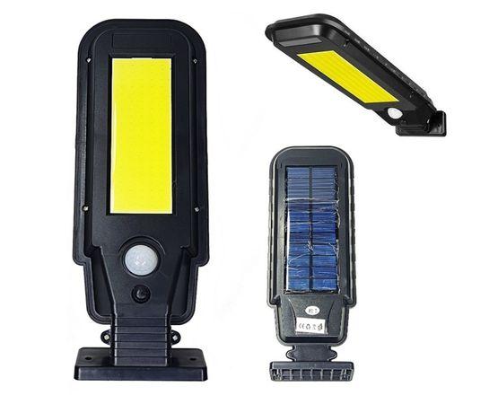 LATARNIA halogen LAMPA solarna ULICZNA COB 100 LED czujnik RUCHU