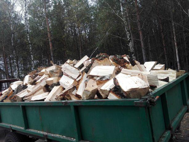 Drewno kominkowe cięte rabane