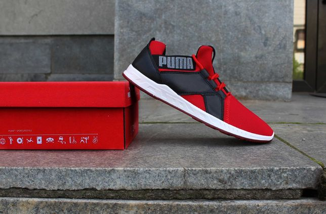 (561) Кроссовки Puma Ignite (40-46) - Красные, Яркие пума, Супер цена