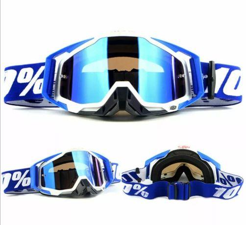 Óculos motocross marca 100%