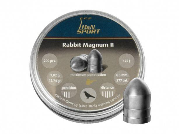 Śrut diabolo H&N Rabbit Magnum II 4,5 mm 200 szt.