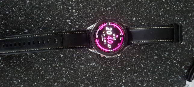 Samsung Galaxy Watch 3 lte e-sim 45 mm zegarek dodatkowe paski gratis