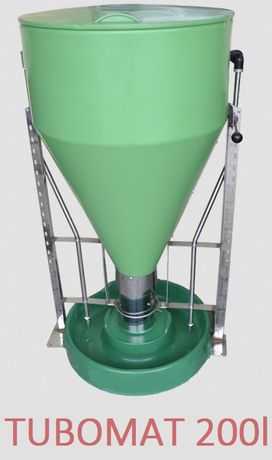 Karmnik-TUBOMAT dla 60 tuczników-karmienie NA MOKRO-200l-Wysyłka