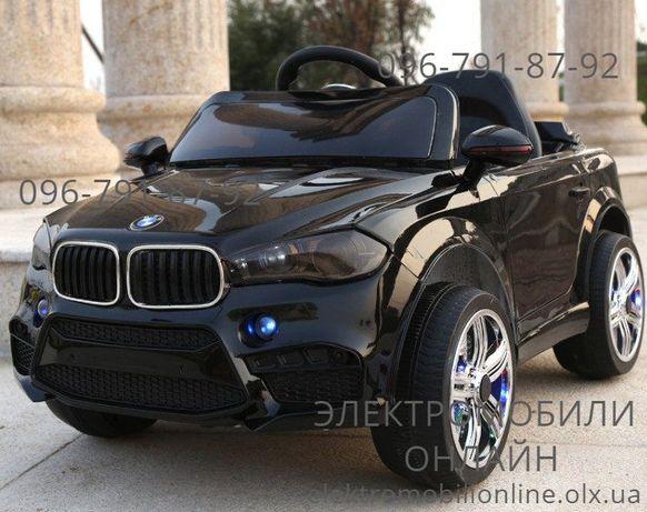 ХАРЬКОВ! В наличии детский электромобиль Джип BMW X5+EVA-РЕЗИНА+КОЖА