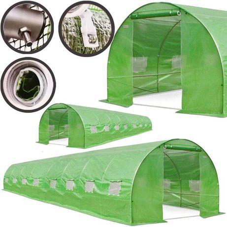 Ogrodowy Tunel Foliowy 8x3x2m Szklarnia Folia 24m2