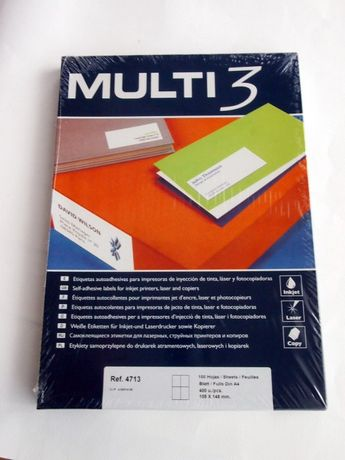 Nowe etykiety samoprzylepne do drukarek MULTI 3