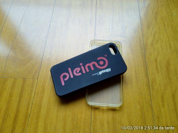 2 capas iphone 5 com portes