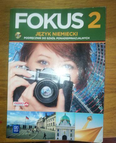 Fokus 2 Podręcznik do języka niemieckiego