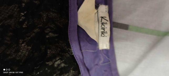 Блузка , фиолетовая, нарядная, размер затерся, подходит на с/м.