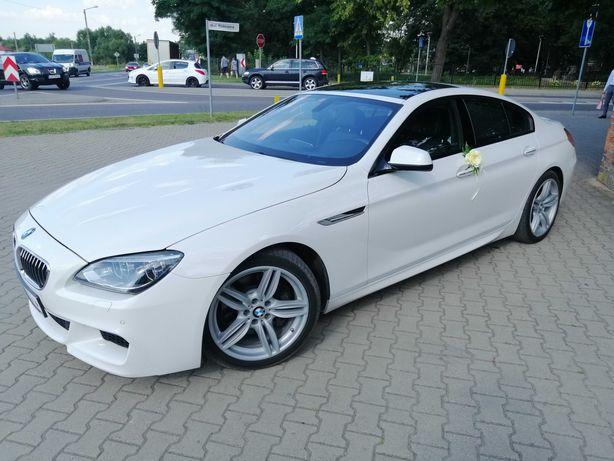 BMW serii 6 F06 auto do ślubu bardzo elegancki WOLNE TERMINY