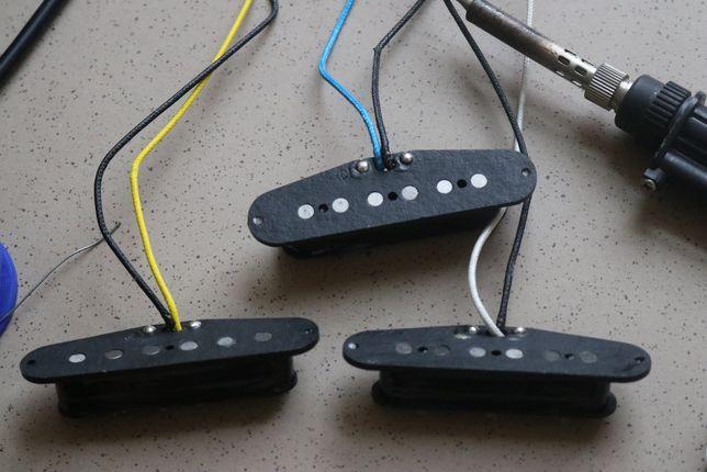 "Przetworniki gitarowe - ""OBROSLAK CUSTOM"" - Fender Stratocaster"