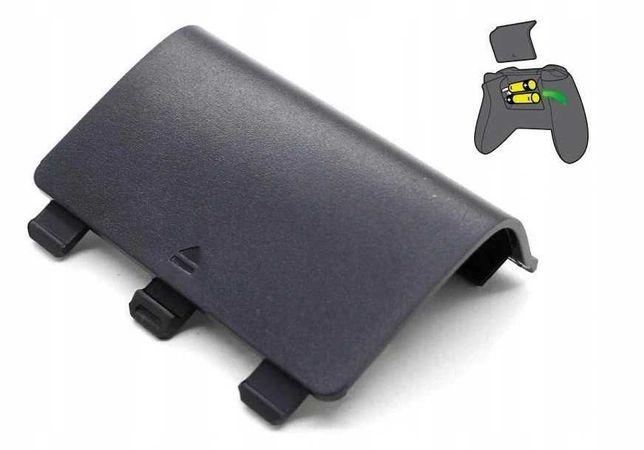 Czarna klapka baterii do pada Xbox One ** Video-Play Wejherowo