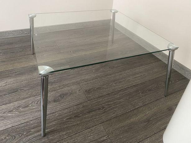 Stolik kawowy szklany ława Darco szkło hartowane