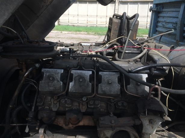 Продам КАМАЗ 53213, двигатель, КПП, редуктора, рама с док, кабина