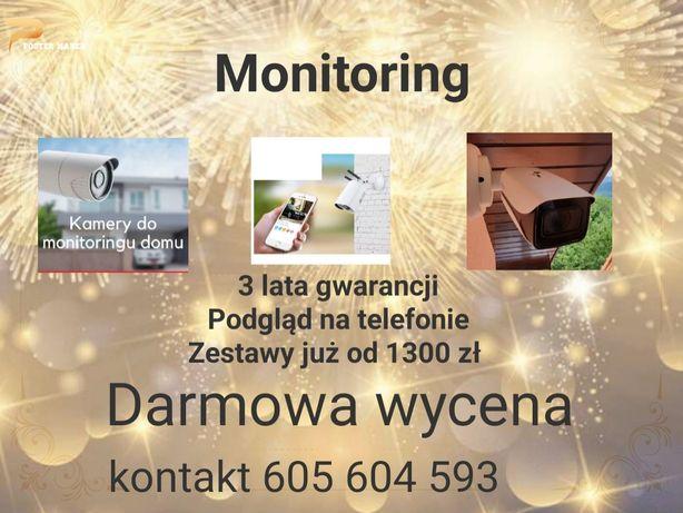 Monitoring Alarmy dla domu sklepu gospodarstwa